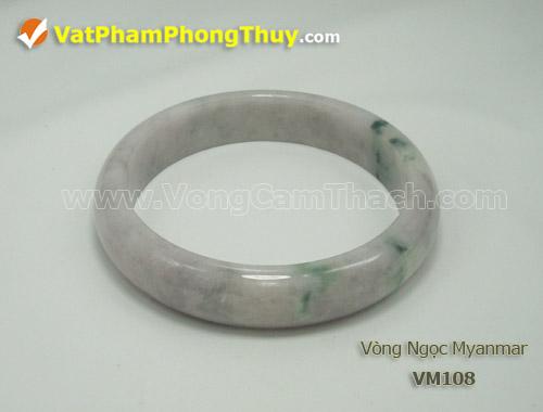 vong cam thach VM108 Vòng Cẩm Thạch Miến Điện   Vòng Ngọc Thiên Nhiên tuyệt đẹp và giá trị hàng đầu