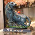 Hổ kiểu cổ xanh xám lưng có hạt châu – Phước đa tài đa